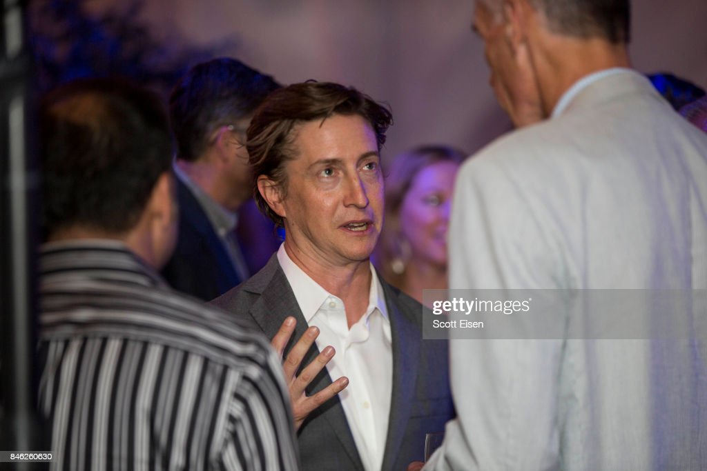 Director David Gordon Green at the after party following the Boston Premiere of STRONGER at Spaulding Rehab Center on September 12, 2017 in Charlestown, Massachusetts.