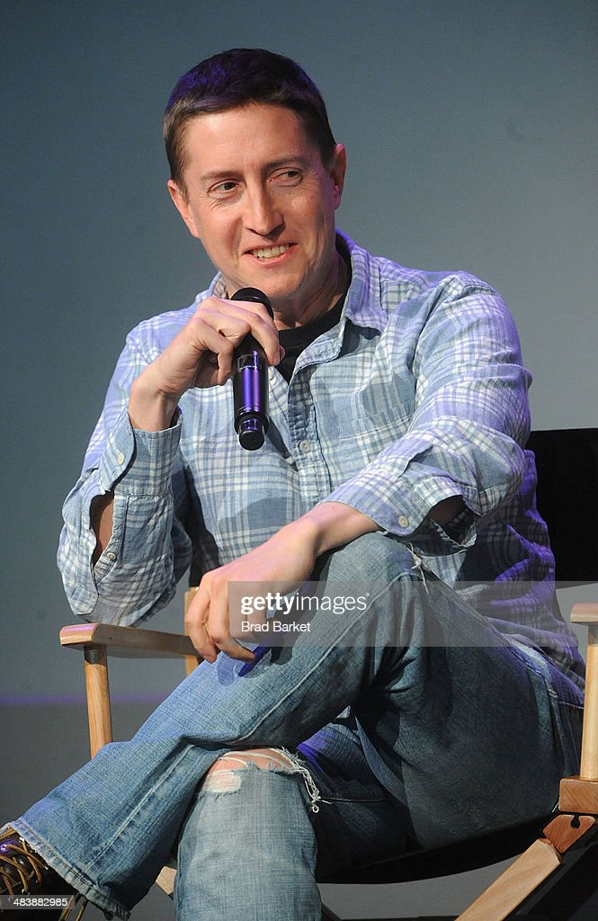 Director David Gordon Green attends 'Meet The Filmmakers' at Apple Store Soho on April 10, 2014 in New York City.