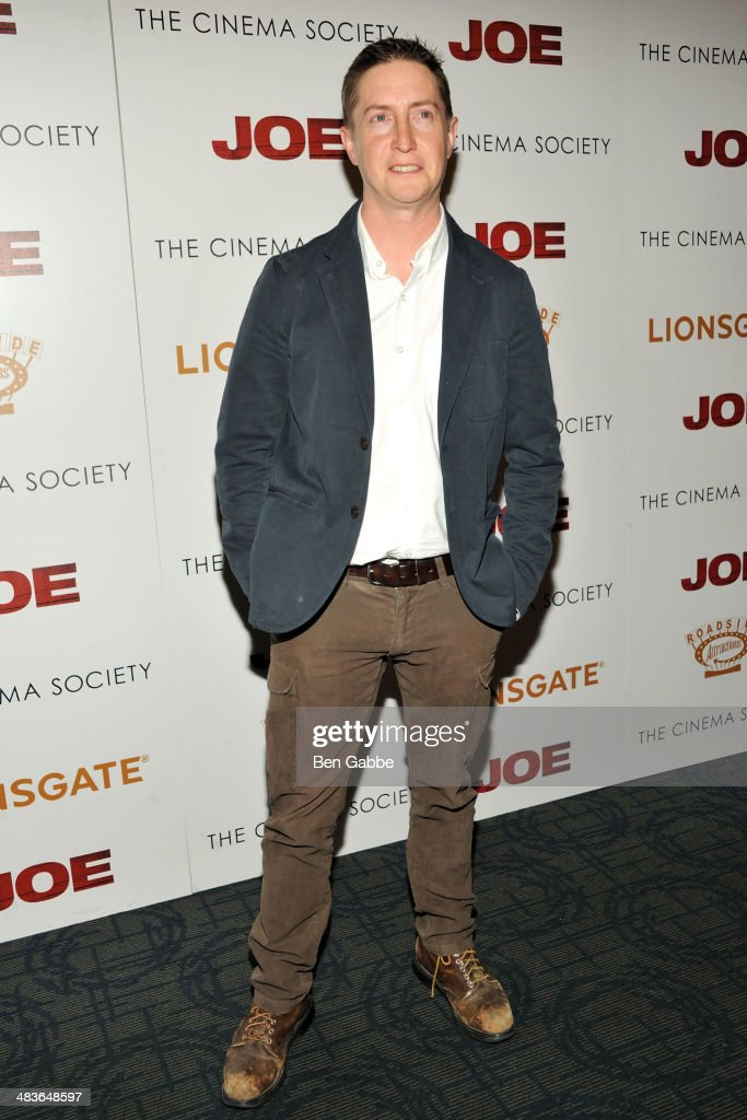 Director David Gordon Green attends the 'Joe' screening hosted by Lionsgate And Roadside Attractions With The Cinema Society at Sunshine Landmark on...
