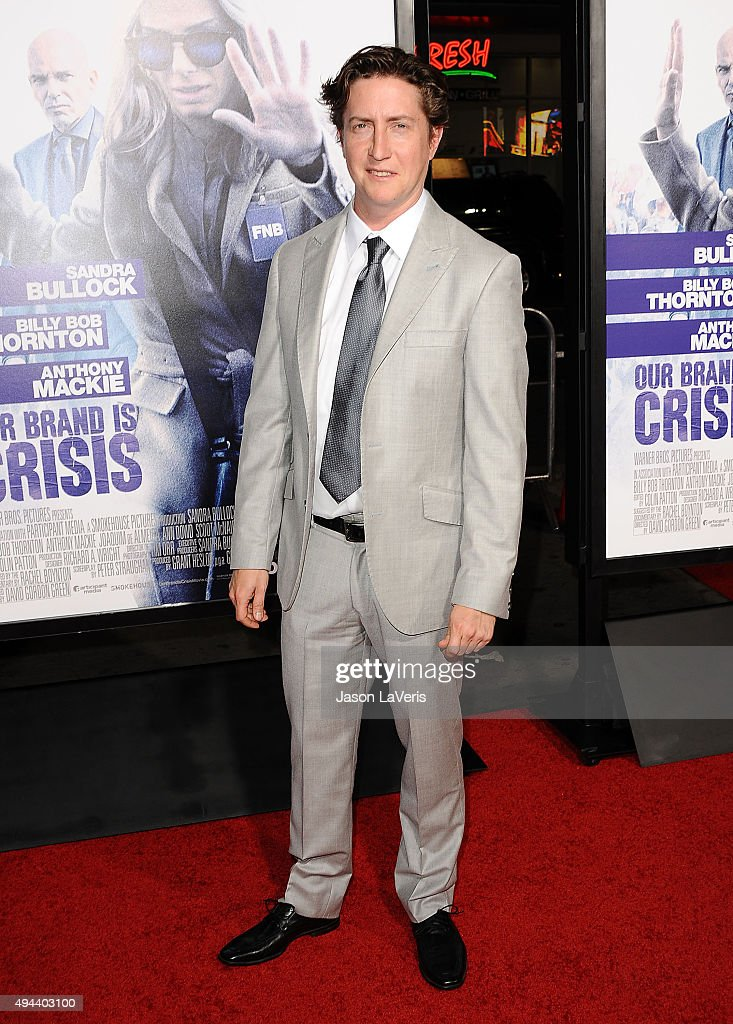 Director David Gordon Green attends the premiere of 'Our Brand Is Crisis' at TCL Chinese Theatre on October 26 2015 in Hollywood California