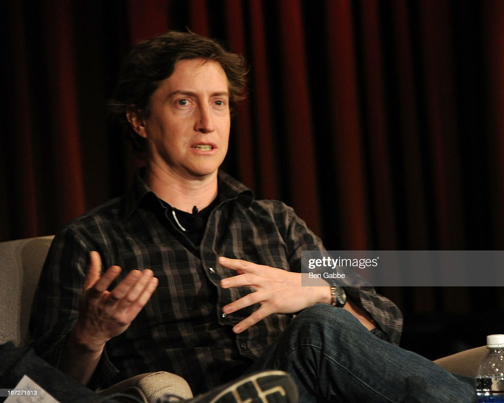 Director <a gi-track='captionPersonalityLinkClicked' href=/galleries/search?phrase=David+Gordon+Green&family=editorial&specificpeople=2901053 ng-click='$event.stopPropagation()'>David Gordon Green</a> speaks during the Future Of Film: A Conversation With Nerdist during the 2013 Tribeca Film Festival on April 23, 2013 in New York City.
