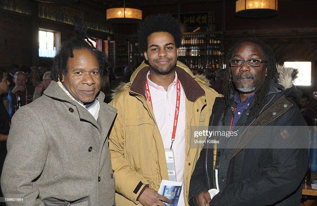 Director David Lawson and filmmakers Ashitey Akomfrah and Trevor Mathison attend the UK Film Brunch at Sundance - 2013 Park City on January 20, 2013 in Park City, Utah.