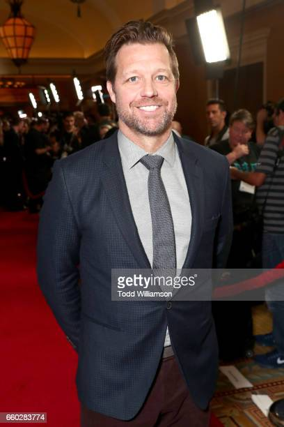Director David Leitch at CinemaCon 2017 Focus Features Celebrating 15 Years and a Bright Future at Caesars Palace during CinemaCon the official...