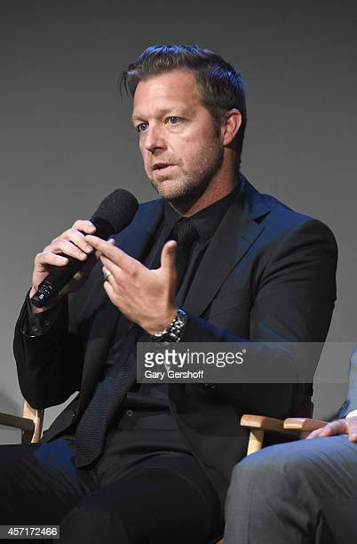 Director David Leitch attends Apple Store Soho Presents Meet The Actors Keanu Reeves Alfie Allen Chad Stahelski David Leitch And Basil Iwanyk 'John...