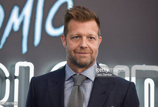 Director David Leitch attends Focus Features' 'Atomic Blonde' at The Theatre at Ace Hotel on July 24 2017 in Los Angeles California