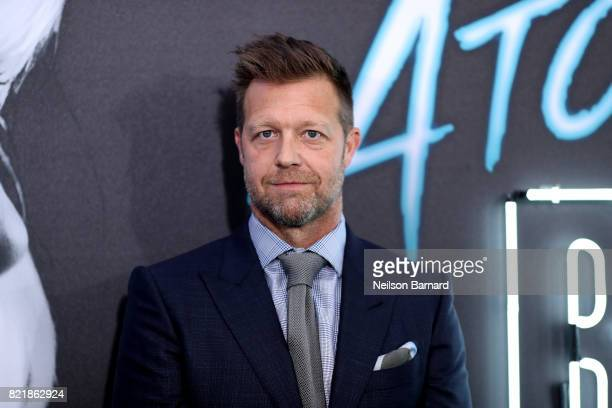 Director David Leitch attends Focus Features' 'Atomic Blonde' premiere at The Theatre at Ace Hotel on July 24 2017 in Los Angeles California