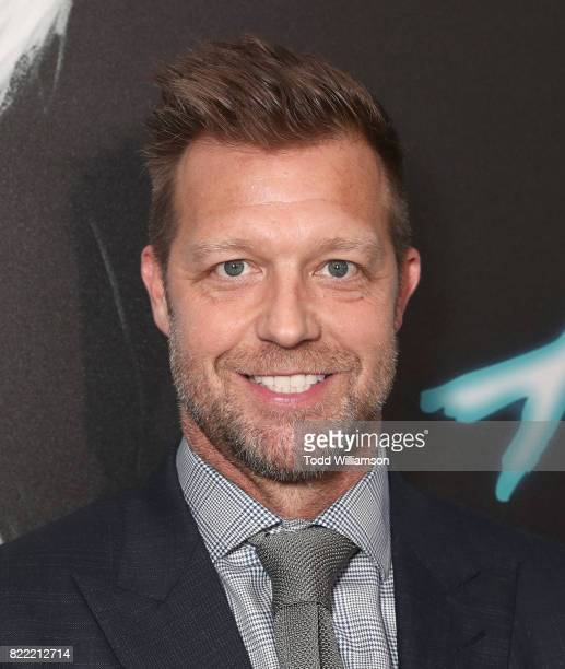 Director David Leitch attends the premiere Of Focus Features' 'Atomic Blonde' at The Theatre at Ace Hotel on July 24 2017 in Los Angeles California