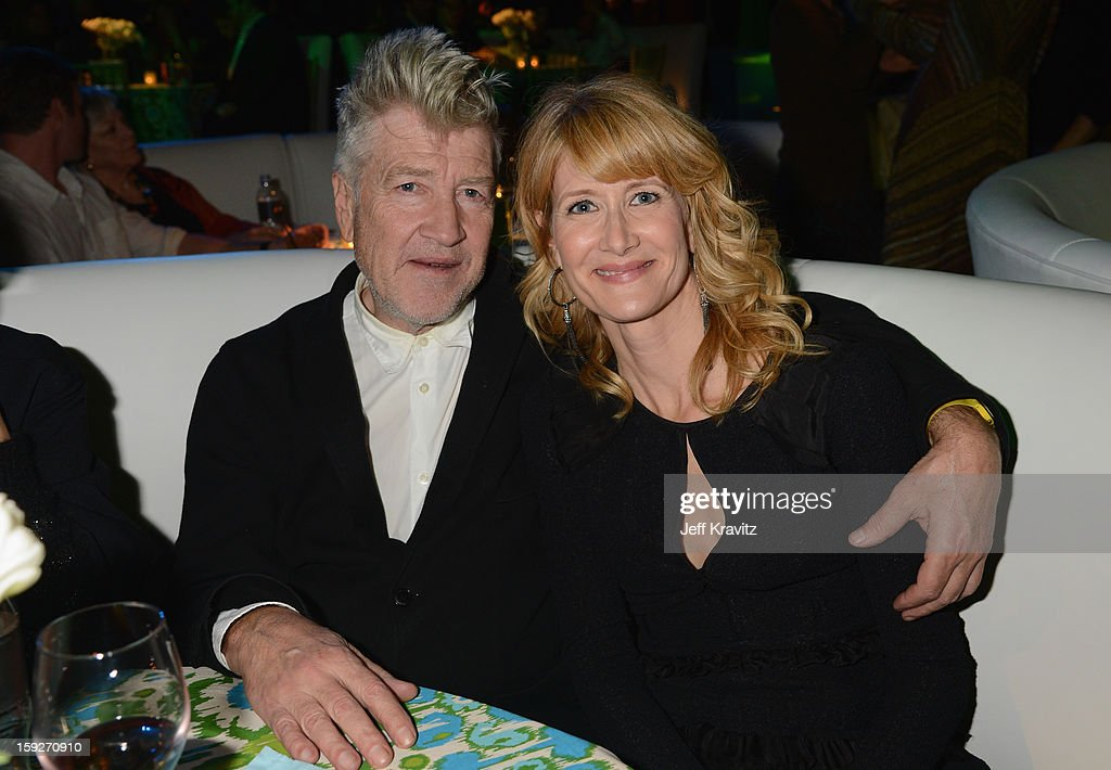 Director <a gi-track='captionPersonalityLinkClicked' href=/galleries/search?phrase=David+Lynch&family=editorial&specificpeople=224589 ng-click='$event.stopPropagation()'>David Lynch</a> and actress <a gi-track='captionPersonalityLinkClicked' href=/galleries/search?phrase=Laura+Dern&family=editorial&specificpeople=204203 ng-click='$event.stopPropagation()'>Laura Dern</a> attend the 'Enlightened' Season 2 Premiere presented by HBO at Avalon on January 10, 2013 in Hollywood, California.