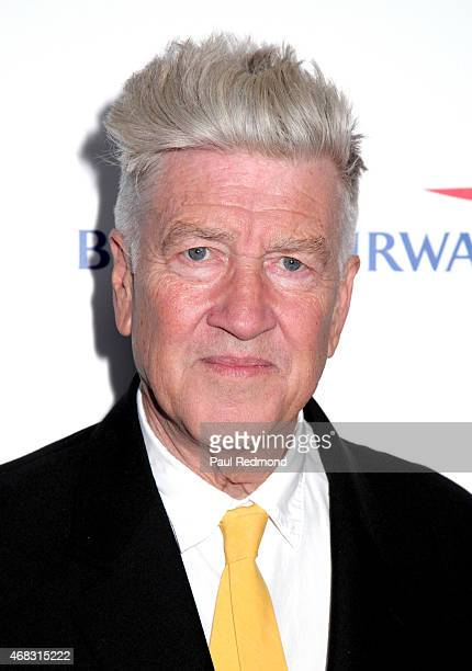 Director David Lynch arriving at The Music of David Lynch Benefiting the 10th anniversary of The David Lynch Foundation at The Ace Hotel Theater on...