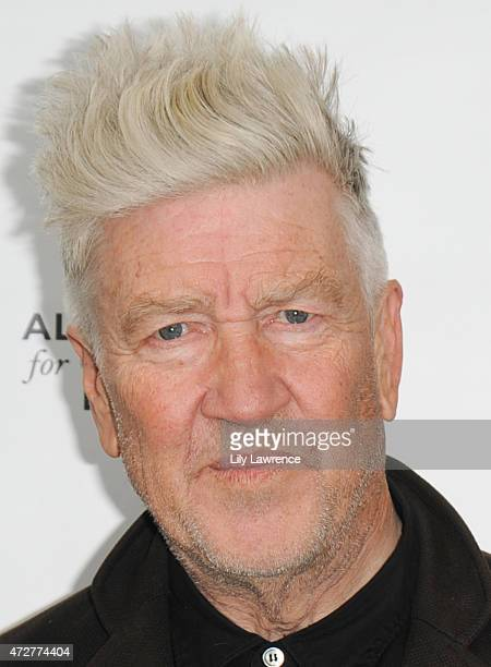 Director David Lynch attends Alliance Of Moms Giant Playdate on May 9 2015 in Los Angeles California
