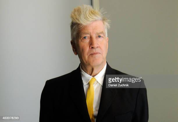 Director David Lynch attends David Lynch Foundation Presents 'Change Begins Within' Benefit Gala at Conrad New York on December 3 2013 in New York...