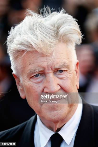 Director David Lynch attends the Closing Ceremony of the 70th annual Cannes Film Festival at Palais des Festivals on May 28 2017 in Cannes France