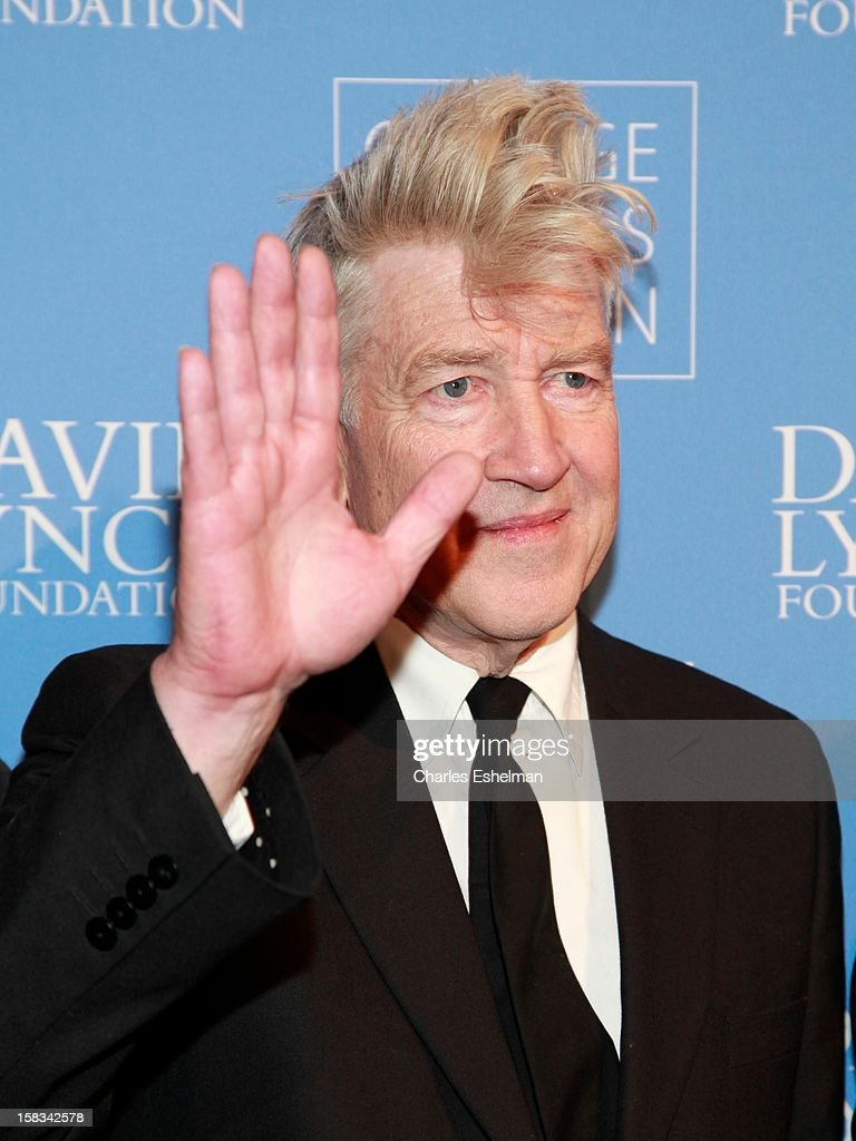 Director <a gi-track='captionPersonalityLinkClicked' href=/galleries/search?phrase=David+Lynch&family=editorial&specificpeople=224589 ng-click='$event.stopPropagation()'>David Lynch</a> attends the <a gi-track='captionPersonalityLinkClicked' href=/galleries/search?phrase=David+Lynch&family=editorial&specificpeople=224589 ng-click='$event.stopPropagation()'>David Lynch</a> Foundation hosts 'An Intimate Night Of Jazz' at Frederick P. Rose Hall, Jazz at Lincoln Center on December 13, 2012 in New York City.