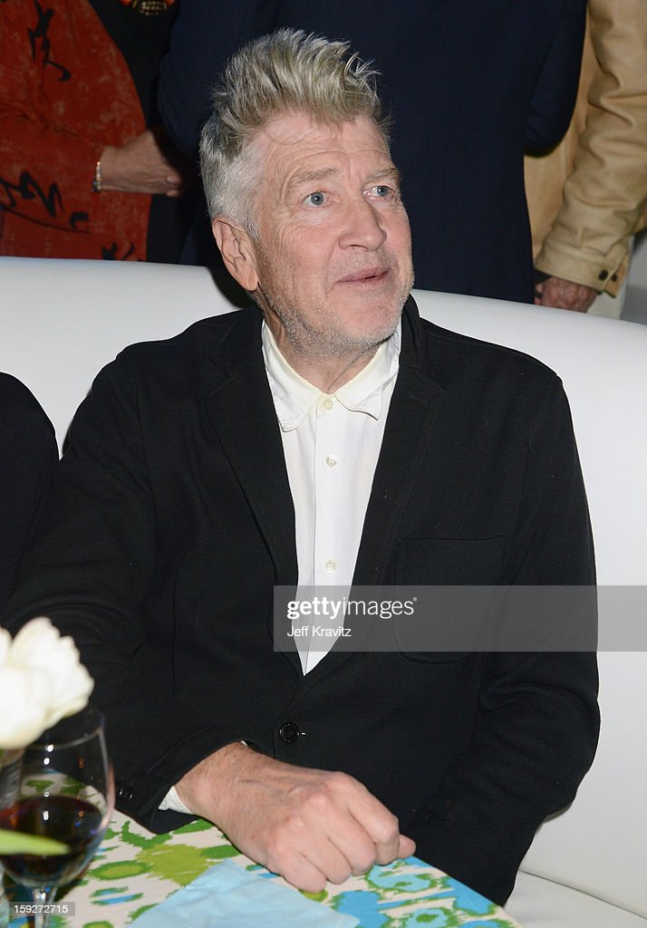 Director <a gi-track='captionPersonalityLinkClicked' href=/galleries/search?phrase=David+Lynch&family=editorial&specificpeople=224589 ng-click='$event.stopPropagation()'>David Lynch</a> attends the 'Enlightened' Season 2 Premiere presented by HBO at Avalon on January 10, 2013 in Hollywood, California.