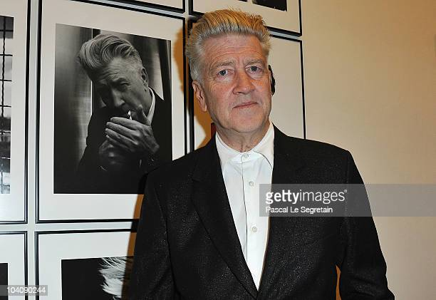 Director David Lynch attends the Karl Lagerfeld Exhibition launch at Maison Europeenne de la Photographie on September 14 2010 in Paris France