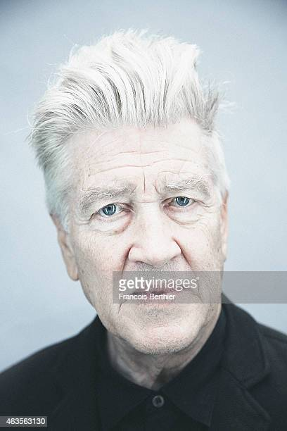 Director David Lynch is photographed for Self Assignment on October 15 2014 in Paris France