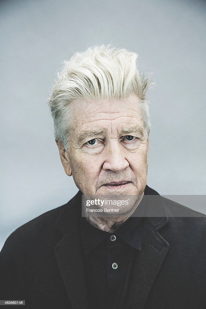 Director David Lynch is photographed for Self Assignment on October 15, 2014 in Paris, France.