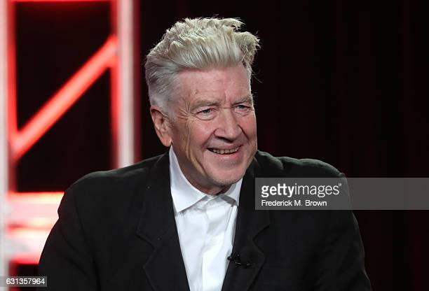 Director David Lynch of the television show 'Twin Peaks' speaks onstage during the Showtime portion of the 2017 Winter Television Critics Association...