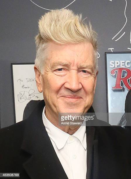 Director David Lynch visits the SiriusXM Studios on December 4 2013 in New York City