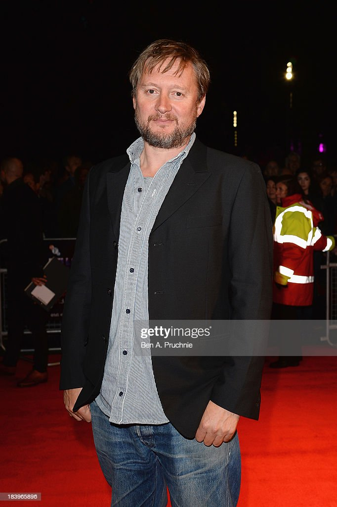 Director David MacKenzie attends a screening of 'Starred Up' during the 57th BFI London Film Festival at Odeon West End on October 10, 2013 in London, England.