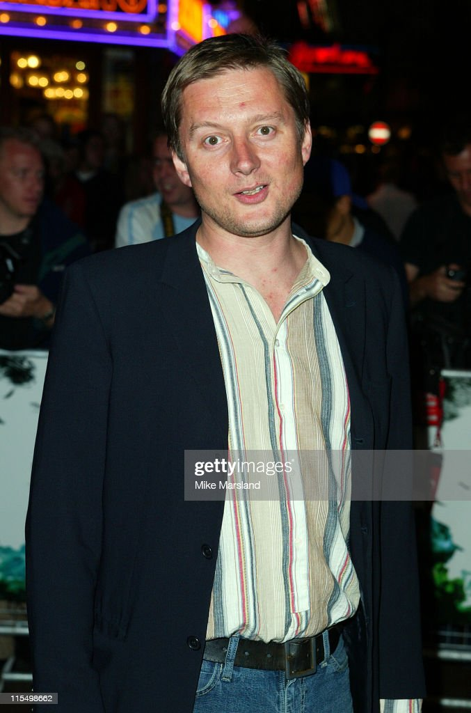 Director David Mackenzie during 'Young Adam' Premiere London at Leicester Square in London Great Britain