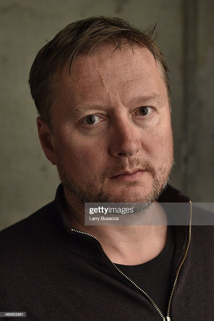 Director David Mackenzie from 'Starred Up' poses for the Tribeca Film Festival Getty Images Studio on April 21 2014 in New York City