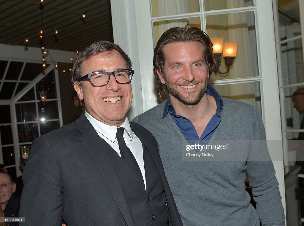 Director <a gi-track='captionPersonalityLinkClicked' href=/galleries/search?phrase=David+O.+Russell&family=editorial&specificpeople=215306 ng-click='$event.stopPropagation()'>David O. Russell</a> (L) and actor <a gi-track='captionPersonalityLinkClicked' href=/galleries/search?phrase=Bradley+Cooper&family=editorial&specificpeople=680224 ng-click='$event.stopPropagation()'>Bradley Cooper</a> attend the Vanity Fair, Barneys New York and The Weinstein Company celebration of 'Silver Linings Playbook' in support of The Glenholme School on February 20, 2013 in Los Angeles, California