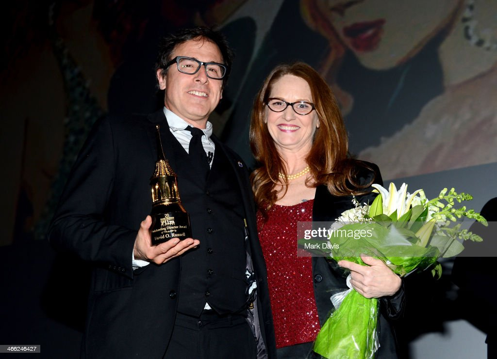 Director David O Russell and actress Melissa Leo attend the presentation of the Outstanding Director Award at the Arlington Theatre at the 29th Santa...