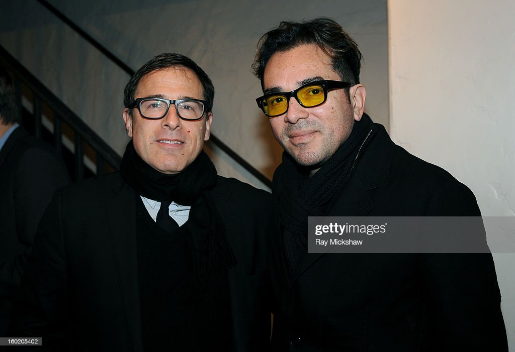 Director <a gi-track='captionPersonalityLinkClicked' href=/galleries/search?phrase=David+O.+Russell&family=editorial&specificpeople=215306 ng-click='$event.stopPropagation()'>David O. Russell</a> and SBIFF director <a gi-track='captionPersonalityLinkClicked' href=/galleries/search?phrase=Roger+Durling&family=editorial&specificpeople=217770 ng-click='$event.stopPropagation()'>Roger Durling</a> attend the 28th Santa Barbara International Film Festival Directors Panel on January 26, 2013 in Santa Barbara, California.