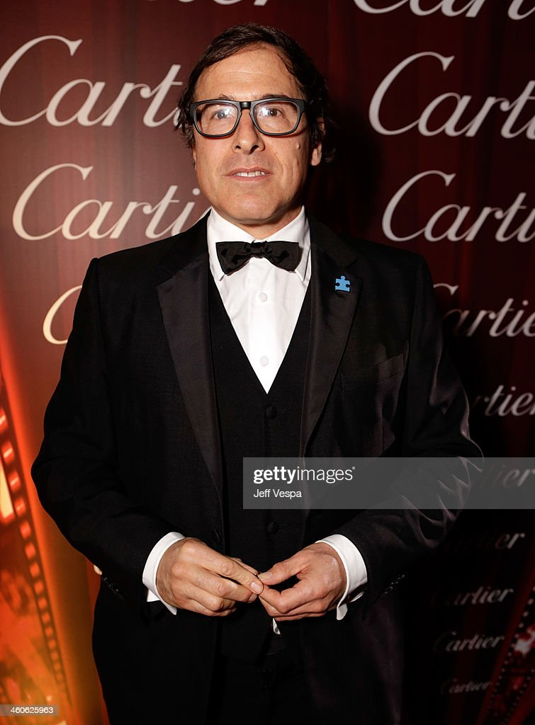 Director <a gi-track='captionPersonalityLinkClicked' href=/galleries/search?phrase=David+O.+Russell&family=editorial&specificpeople=215306 ng-click='$event.stopPropagation()'>David O. Russell</a> arrives at the 25th annual Palm Springs International Film Festival awards gala at Palm Springs Convention Center on January 4, 2014 in Palm Springs, California.