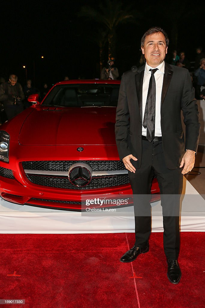 Director David O. Russell arrives in style with Mercedes-Benz at the Palm Springs International Film Festival at the Palm Springs Convention Center on January 5, 2013 in Palm Springs, California.