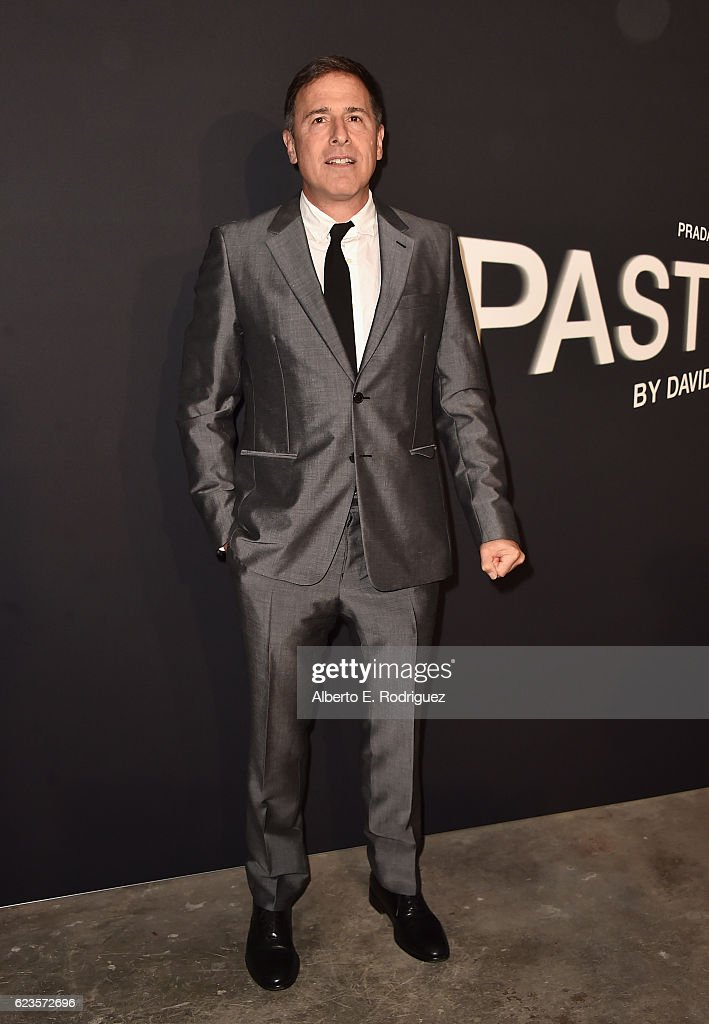 Director David O. Russell attends Prada Presents 'Past Forward' by David O. Russell premiere at Hauser Wirth & Schimmel on November 15, 2016 in Los Angeles, California.