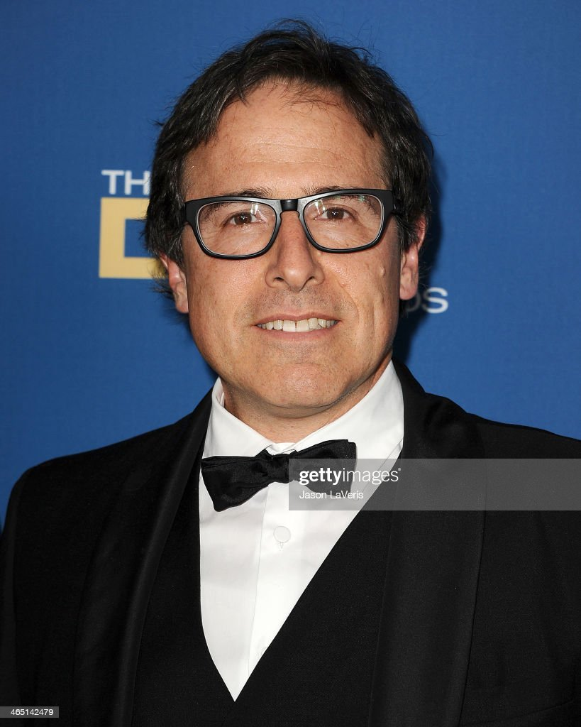 Director <a gi-track='captionPersonalityLinkClicked' href=/galleries/search?phrase=David+O.+Russell&family=editorial&specificpeople=215306 ng-click='$event.stopPropagation()'>David O. Russell</a> attends the 66th annual Directors Guild of America Awards at the Hyatt Regency Century Plaza on January 25, 2014 in Century City, California.