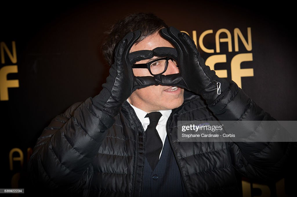 Director David O. Russell attends the 'American Bluff' Paris Premiere at Cinema UGC Normandie, in Paris.