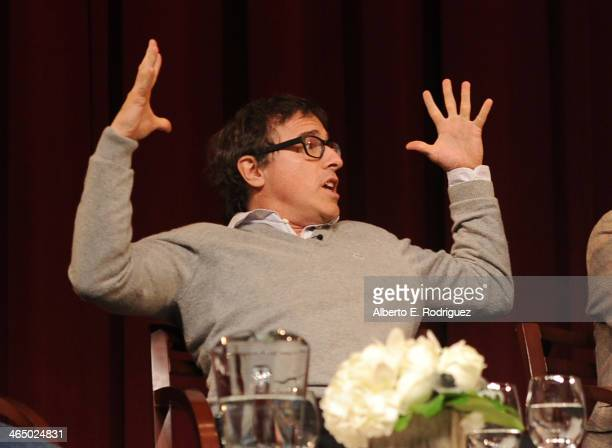 Director David O Russell speaks onstage at the 66th Annual Directors Guild of America Awards Feature Film Symposium held at Directors Guild Of...