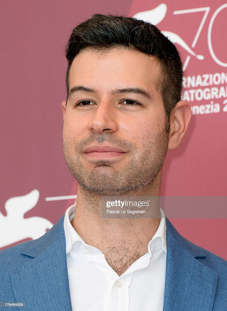 Director David Pablos attends 'La Vida Despues' Photocall during the 70th Venice International Film Festival at Palazzo del Casino on September 4, 2013 in Venice, Italy.
