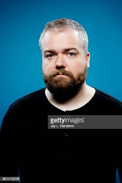 Director David Sandberg from the film 'Annabelle Creation' is photographed in the LA Times photo studio at ComicCon 2017 in San Diego CA on July 20...