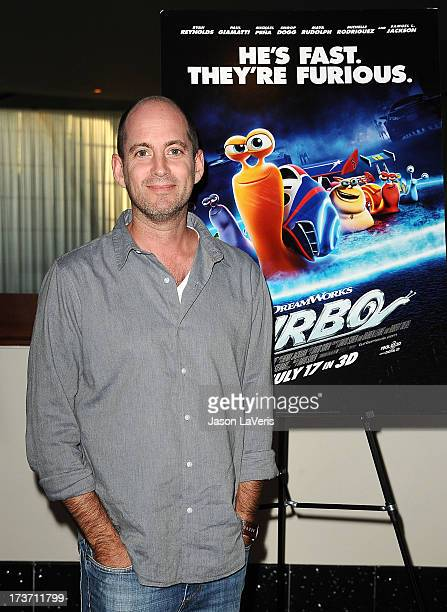 Director David Soren attends a screening of 'Turbo' at ArcLight Hollywood on July 16 2013 in Hollywood California