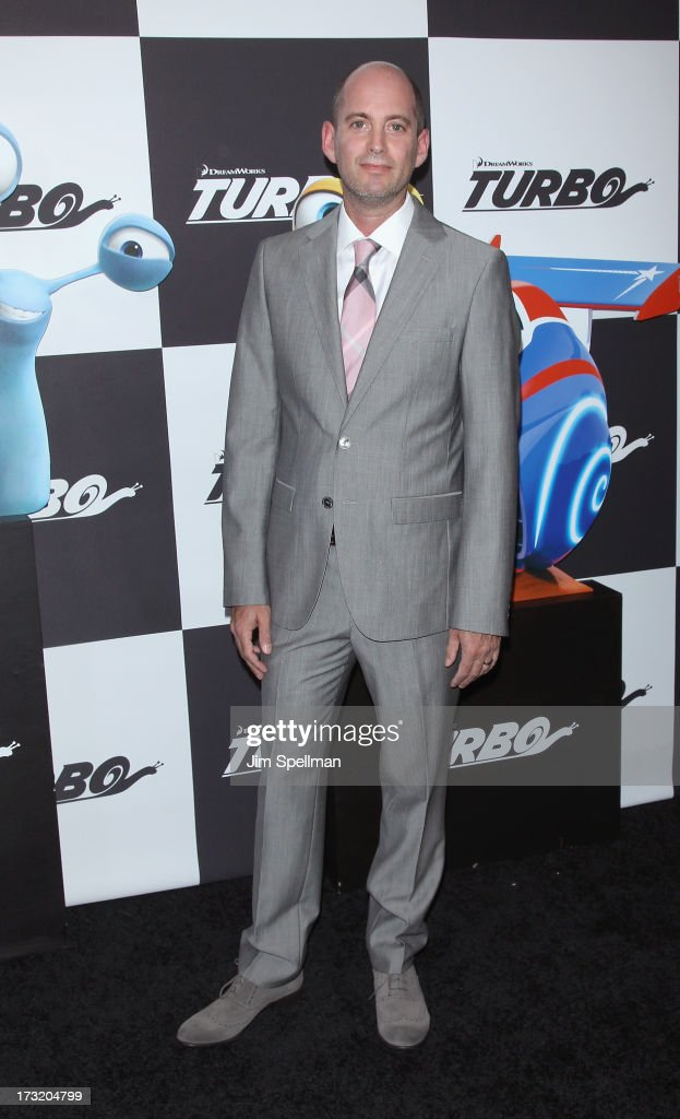 Director David Soren attends the 'Turbo' New York Premiere at AMC Loews Lincoln Square on July 9, 2013 in New York City.