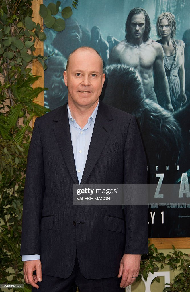 Director David Yates attends the world premiere of 'The Legend of Tarzan' in Hollywood, California, on June 27, 2016. / AFP / VALERIE