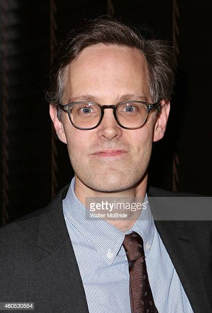 Director Davis McCallum attends the Opening Night After Party for 'Pocatello' at Heartland Brewery on December 15 2014 in New York City