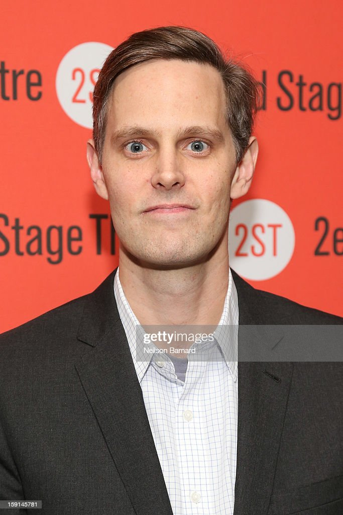 Director Davis McCallum attends the 'Water By The Spoonful' Opening Night Celebration at Dave & Buster's Time Square on January 8, 2013 in New York City.