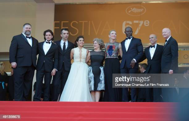 Director Dean DeBlois Kit Harington Jay Baruchel America Ferrera Bonnie Arnold Cate Blanchett Djimon Hounsou CEO of DreamWorks Animation Jeffrey...