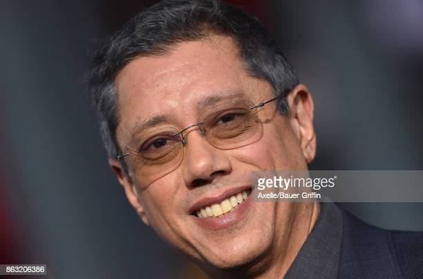 Director Dean Devlin arrives at the premiere of 'Geostorm' at TCL Chinese Theatre on October 16 2017 in Hollywood California
