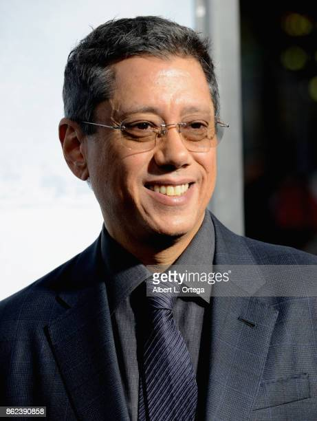 Director Dean Devlin arrives for the Premiere Of Warner Bros Pictures' 'Geostorm' held at TCL Chinese Theatre on October 16 2017 in Hollywood...