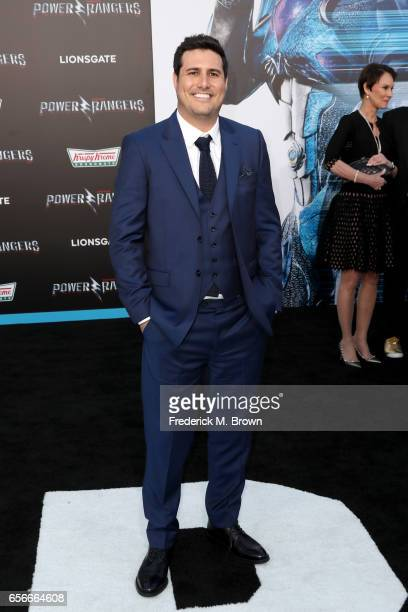 Director Dean Israelite at the premiere of Lionsgate's 'Power Rangers' on March 22 2017 in Westwood California