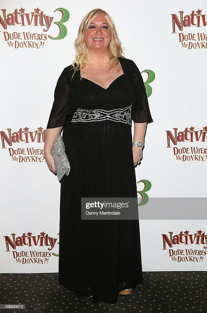 Director Debbie Isitt attends the UK Premiere of 'Nativity 3: Dude Where's My Donkey?' at Vue West End on November 2, 2014 in London, England.