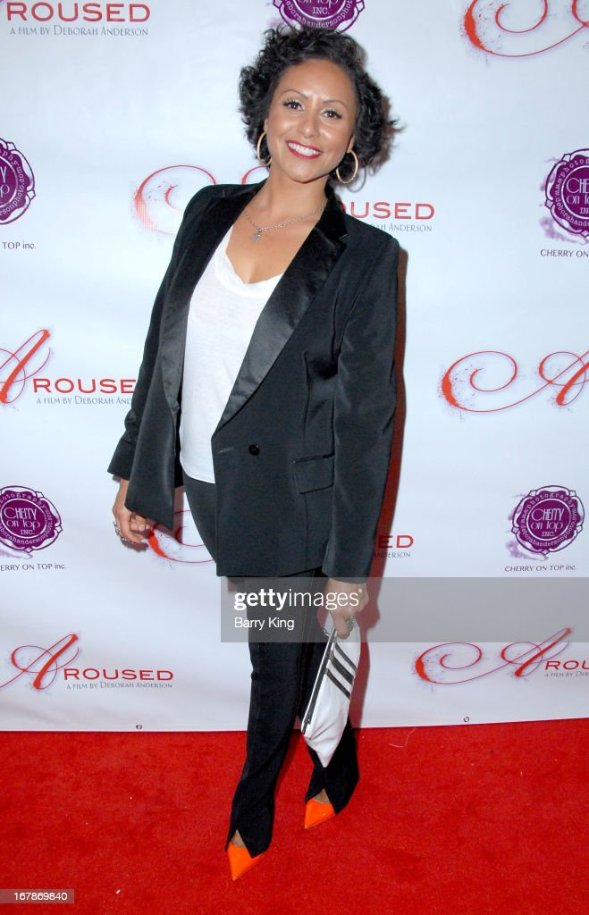 Director Deborah Anderson attends the 'Aroused' - Los Angeles Premiere on May 1, 2013 at the Landmark Nuart Theatre in Los Angeles, California.