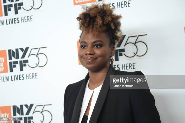 Director Dee Rees attends the 55th New York Film Festival screening of 'Mudbound' at Alice Tully Hall in New York on October 12 2017