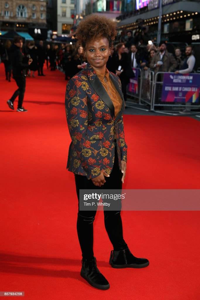 Director Dee Rees attends the Royal Bank of Canada Gala & European Premiere of 'Mudbound' during the 61st BFI London Film Festival on October 5, 2017 in London, England.